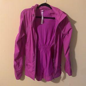 Lululemon Pink Zip-Up Jacket with Hood